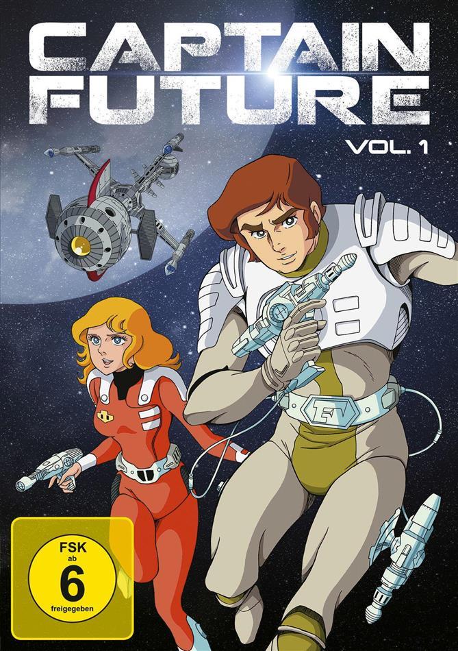 Captain Future - Vol. 1 (Remastered, 2 DVDs)