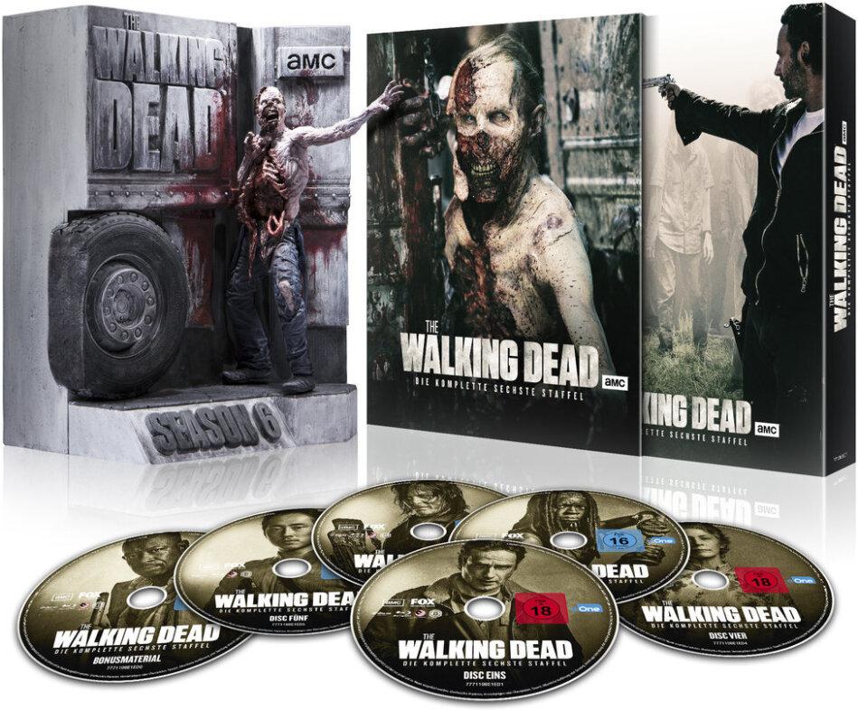 The Walking Dead - Staffel 6 (Limitierte Truck Walker Edition, Ultimate Edition, Uncut, 6 Blu-ray)