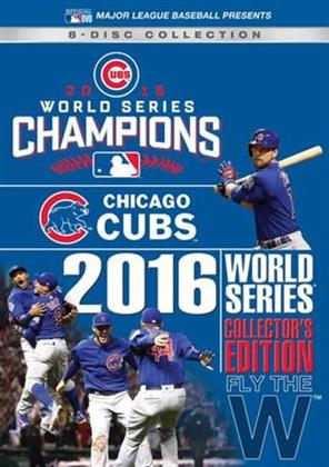 MLB: World Series 2016 (Collector's Edition, 8 DVD)