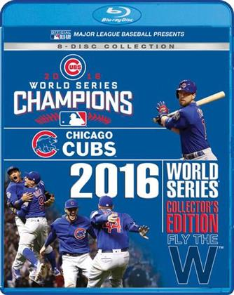 MLB: World Series 2016 (Collector's Edition, 8 Blu-ray)