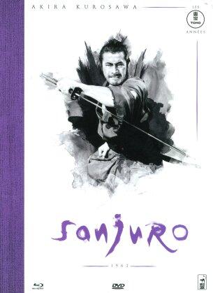 Sanjuro (1962) (n/b, Mediabook, Blu-ray + DVD)