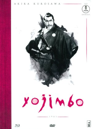 Yojimbo (1961) (Mediabook, s/w, Blu-ray + DVD)