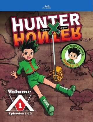 Hunter X Hunter - Vol. 1 (2011) (2 Blu-rays)