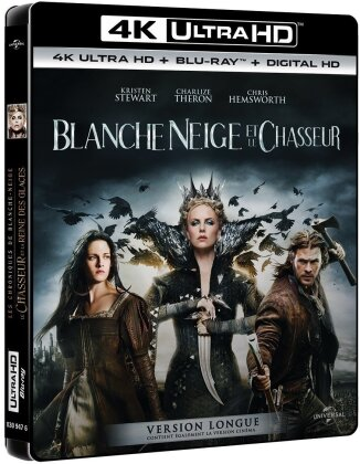 Blanche Neige et le chasseur (2012) (Cinema Version, Long Version, 4K Ultra HD + Blu-ray)