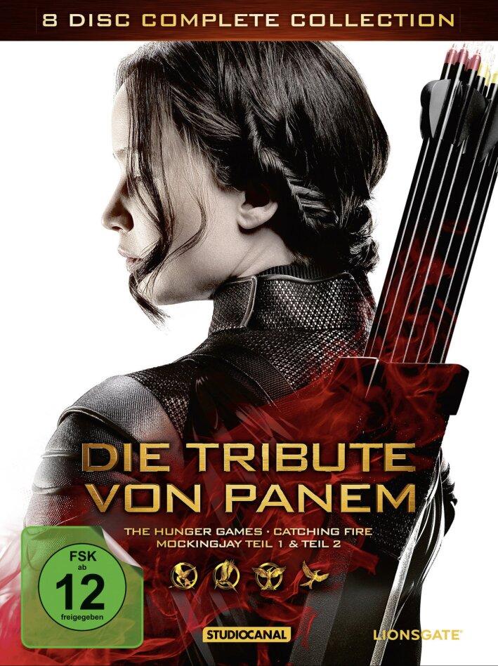 Die Tribute von Panem - Complete Collection (8 DVDs)