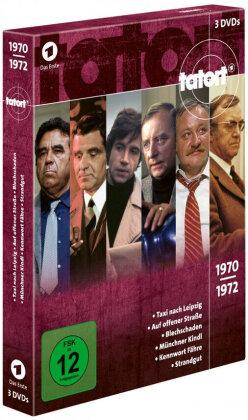 Tatort - 70er Box 1 - Die Jahre 1970 - 1972 (3 DVDs)