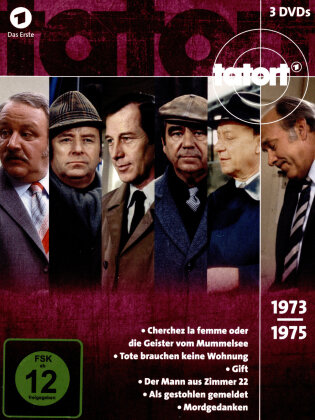 Tatort - 70er Box 2 - Die Jahre 1973 - 1975 (3 DVDs)