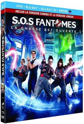 S.O.S Fantômes (2016) (Kinoversion, Langfassung, Blu-ray 3D + Blu-ray + DVD)