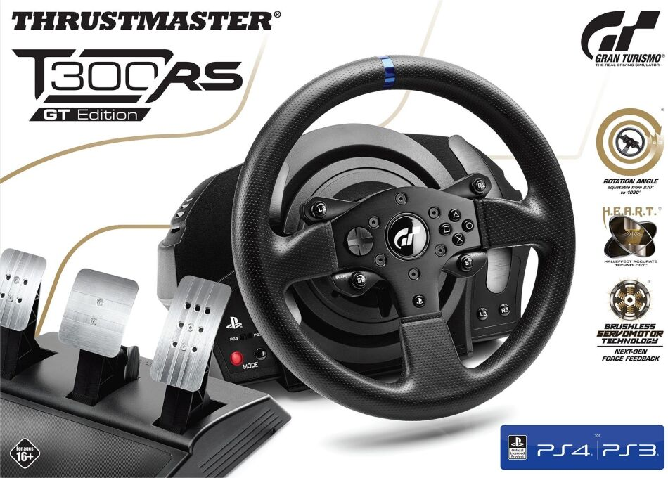 Thrustmaster - T300 RS GT Edition Wheel