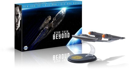 Star Trek 13 - Sans Limites (2016) (Coffret collector vaisseau spatial USS Franklin, Limited Edition, 2 Blu-rays + Blu-ray 3D (+2D))