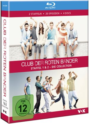 Club der roten Bänder - Staffel 1 & 2 - Die Collection (4 Blu-rays)