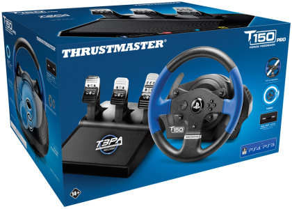 Thrustmaster - T150 RS PRO Force Feedback Wheel [PS5/PS4/PC]
