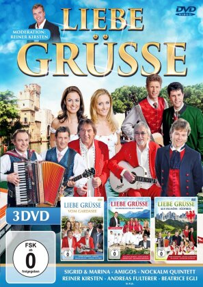 Various Artists - Liebe Grüsse - Komplettbox (3 DVDs)