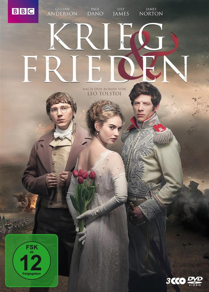 Krieg & Frieden - Mini-Serie (BBC, 3 DVDs)