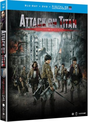 Attack on Titan - The Movie: Part 2 (2015) (Blu-ray + DVD)