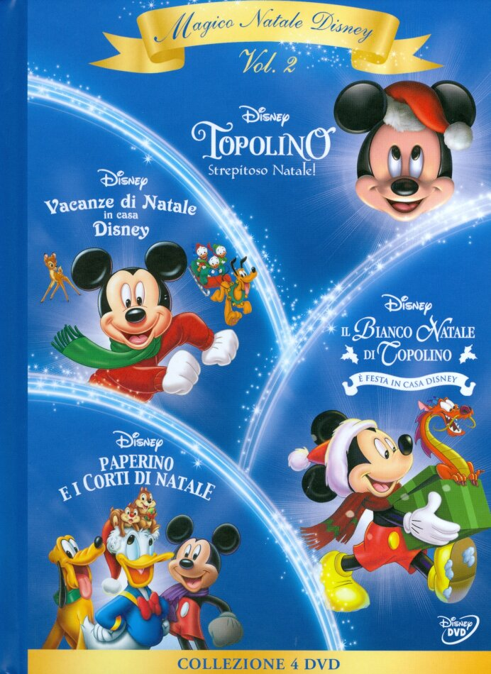 Magico Natale Disney - Volume 2 (Digibook, 4 DVDs)