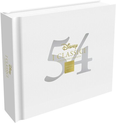 Disney - I Classici - Collezione Completa (Disney Classics, Limited Edition, 54 DVDs)