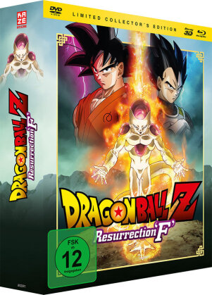 Dragonball Z - Resurrection 'F' (Limited Collector's Edition, Blu-ray 3D + Blu-ray + DVD)