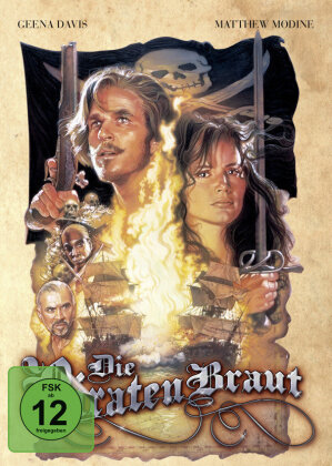 Die Piratenbraut (1995) (Cover B, Mediabook, Blu-ray + DVD)