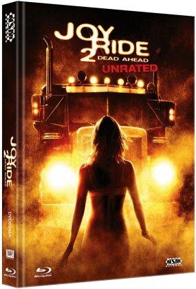 Joy Ride 2 - Dead Ahead (2008) (Cover A, Mediabook, Unrated, Blu-ray + DVD)