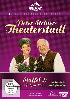 Peter Steiners Theaterstadl - Staffel 2 (Fernsehjuwelen, 8 DVDs)