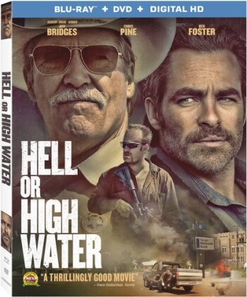Hell or High Water (2016) (Blu-ray + DVD)