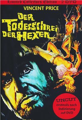 Der Todesschrei der Hexen (1970) (Kleine Hartbox, Collector's Edition, Limited Edition, Uncut, 2 DVDs)