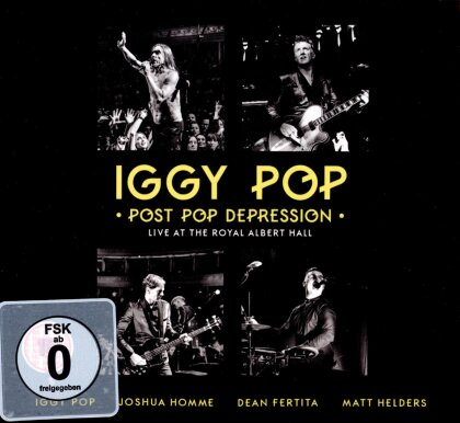 Iggy Pop - Post Pop Depression - Live at The Royal Albert Hall (DVD + 2 CDs)
