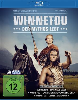 Winnetou - Der Mythos lebt (3 Blu-rays)