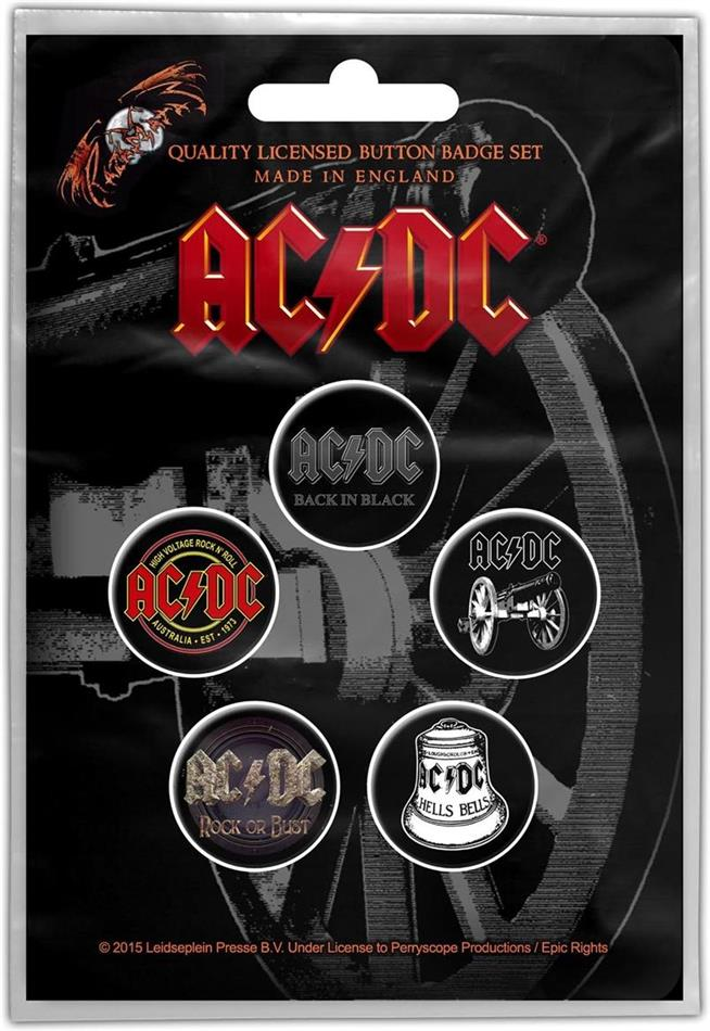 AC/DC - For Those About To Rock (Button Badge Set)