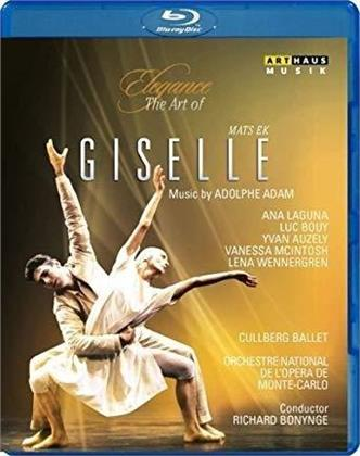 Cullberg Ballet, Orchestre National De L'opéra De Monte-Carlo, Richard Bonynge, … - Adam - Giselle (Elegance, Arthaus Musik)