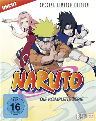 Naruto - Die komplette Serie (Limited Special Edition, Uncut, 8 Blu-rays)