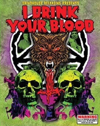 I Drink Your Blood (1970) (Deluxe Edition, 2 Blu-ray)