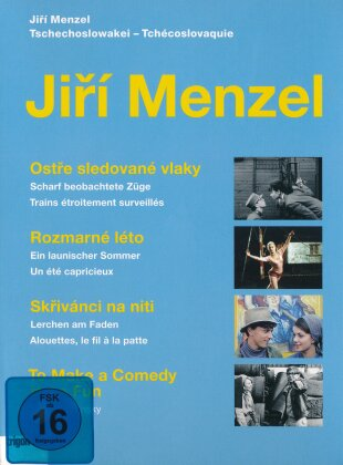 Jiří Menzel Box 1 (Trigon-Film, 3 DVDs)