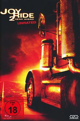 Joy Ride 2 - Dead Ahead (2008) (Cover B, Mediabook, Unrated, Blu-ray + DVD)