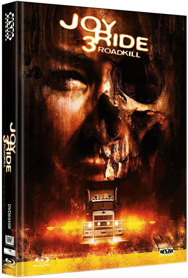 Joy Ride 3 - Roadkill (2014) (Cover B, Mediabook, Unrated, Blu-ray + DVD)