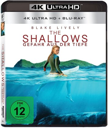 The Shallows - Gefahr aus der Tiefe (2016) (4K Ultra HD + Blu-ray)