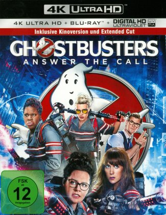 Ghostbusters (2016) (Extended Edition, Kinoversion, 4K Ultra HD + Blu-ray)