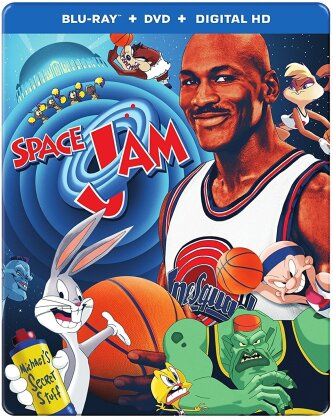 Space Jam (1996) (Steelbook, Blu-ray + DVD)