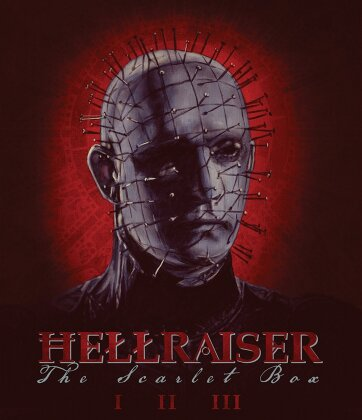 Hellraiser Trilogy - The Scarlet Box (Limited Edition, 4 Blu-rays)