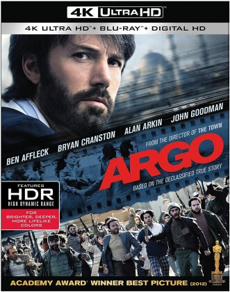 Argo (2012) (4K Ultra HD + Blu-ray)