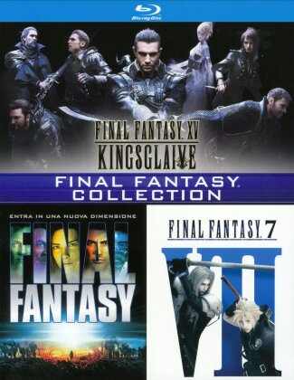 Final Fantasy - Collection (3 Blu-rays)