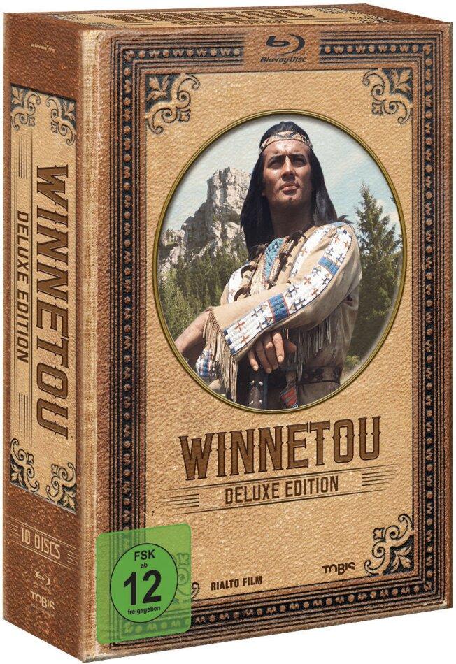 Winnetou (Deluxe Edition, Box, 10 Blu-rays)