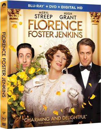 Florence Foster Jenkins (2016) (Widescreen, Blu-ray + DVD)