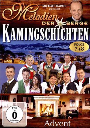 Various Artists - Melodien der Berge - Kamingschichten - Folge 7+8