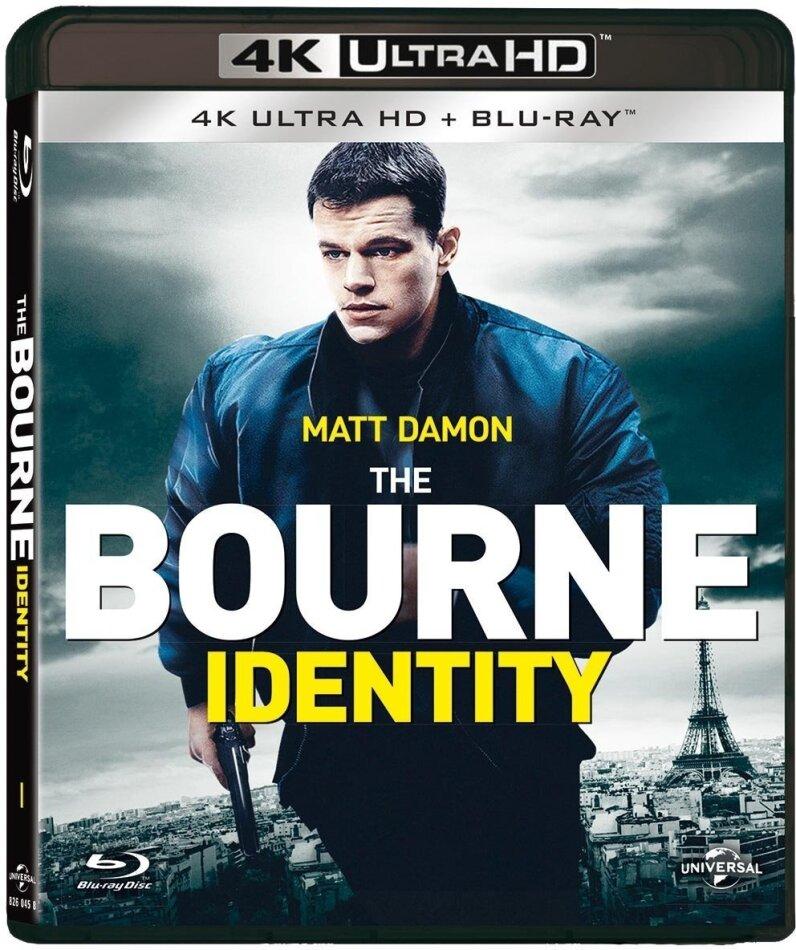 The Bourne Identity 2002 4k Ultra Hd Blu Ray Cede Com