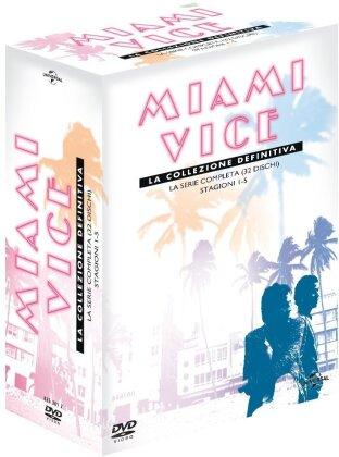 Miami Vice - La collezione definitiva: La serie completa - Stagioni 1-5 (32 DVDs)