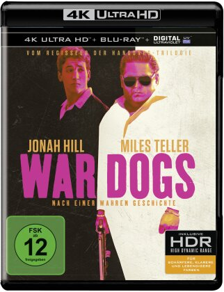 War Dogs (2016) (4K Ultra HD + Blu-ray)