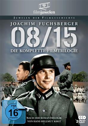 08/15 - Die komplette Filmtrilogie (1954) (Filmjuwelen, s/w, 3 DVDs)