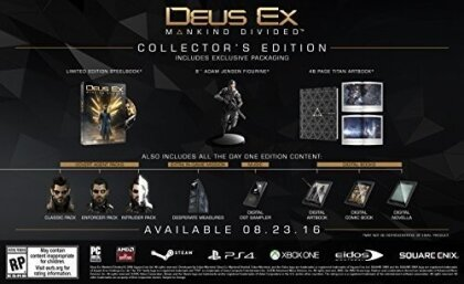 Deus Ex: Mankind Divided (Édition Collector)
